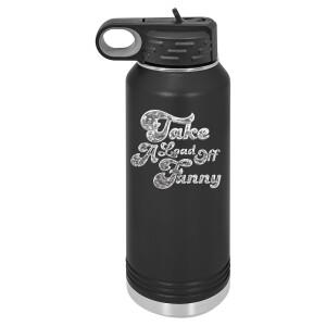 Take A Load Off Fanny Polar Camel Water Bottle