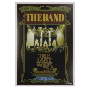 The Band Last Waltz Bob Masse Poster