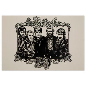 The Band 50th Anniversary Poster