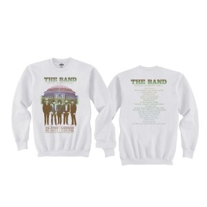 The Band Live at Royal Albert Hall 1971 White Crewneck Sweatshirt