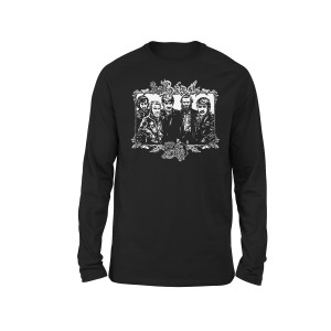 The Band 50 Illustrated Longsleeve T-shirt (Black)