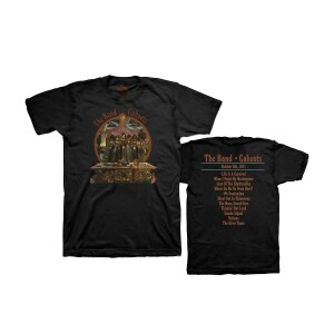 The Band Cahoots 50th Anniversary Black Or Grey T-Shirt