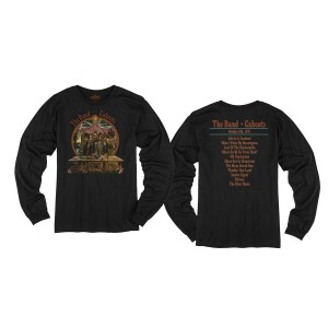 The Band Cahoots 50th Anniversary Black Or Grey Longsleeve T-Shirt
