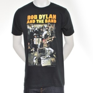 DYLAN & THE BAND COLOR COVER T-SHIRT