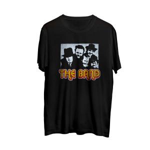 The Band Photo Black T-Shirt