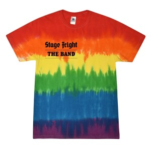 Stage Fright 50Th Anniversary Double-Sided Tie-Dye T-Shirt