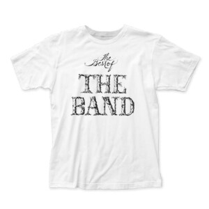 The Band The Best Of The Band White T-Shirt