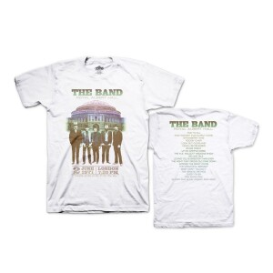 The Band Live at Royal Albert Hall 1971 White T-Shirt