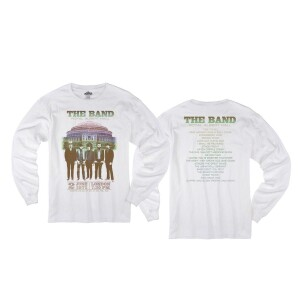 The Band Live at Royal Albert Hall 1971 White Longsleeve T-Shirt