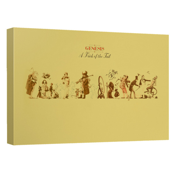 Genesis/A Trick Of The Tail -Canvas Wall Art With Back Board-White ...