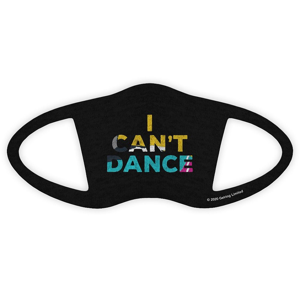Can't Dance Face Covering Black