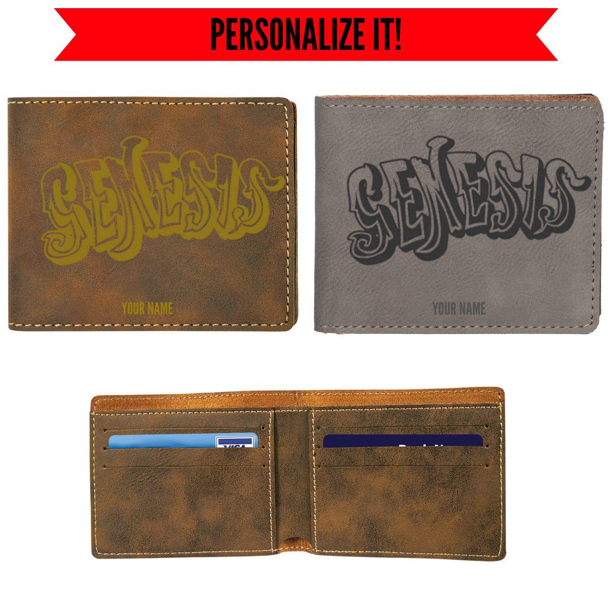 70s Logo Vegan Leather Wallet