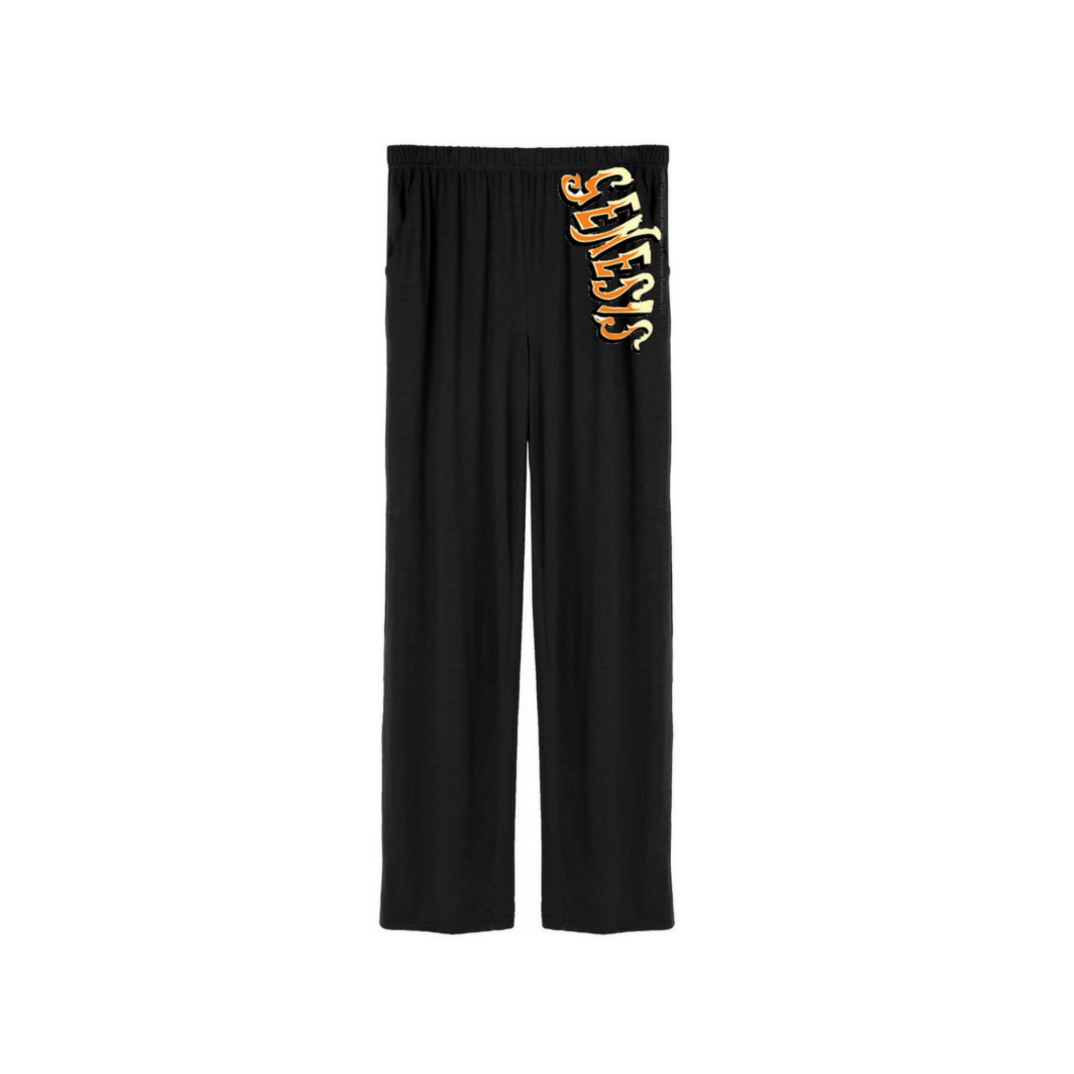 Two Tone Logo Pajama Pants