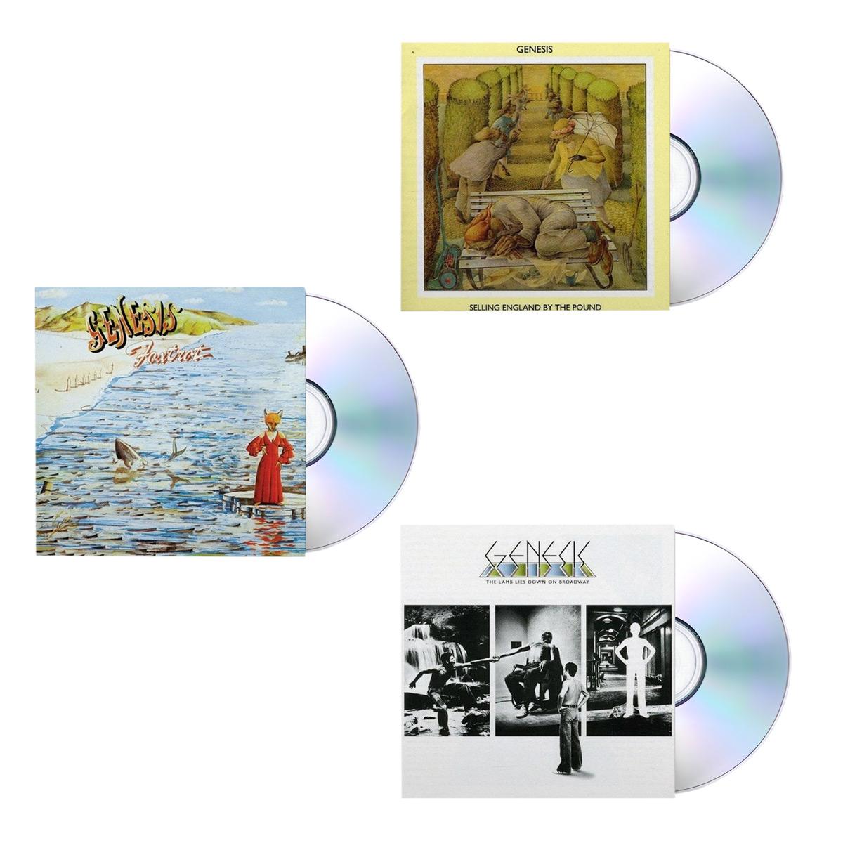 Genesis Essential CDs Starter Pack