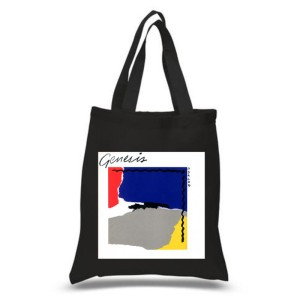 Abacab Black Tote Bag
