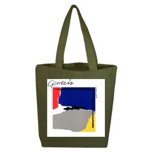 Abacab Olive Tote Bag