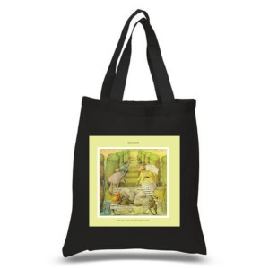 Selling England By The Pound Black Tote Bag