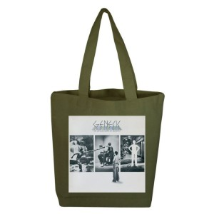 The Lamb Lies Down On Broadway Olive Tote Bag