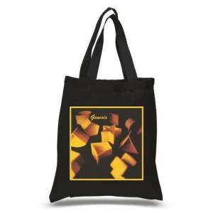 Genesis Black Tote Bag