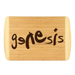 Modern Logo Laser Engraved Large Bamboo Cutting Board