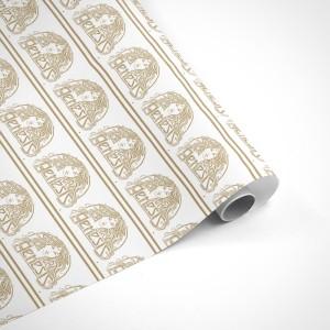 Genesis Knebworth 78 Goddess Logo Wrapping Paper