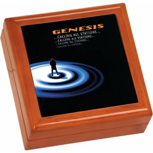 Calling All Stations Wooden Keepsake Box