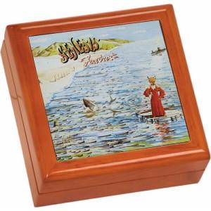 Foxtrot Wooden Keepsake Box
