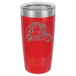 Goddess Logo Laser Engraved Polar Camel Travel Mug