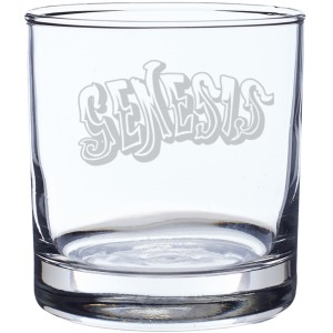 70's Logo Laser-Etched Whiskey Glass