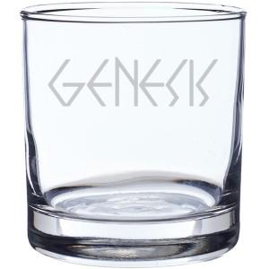 Lamb Logo Laser-Etched Whiskey Glass
