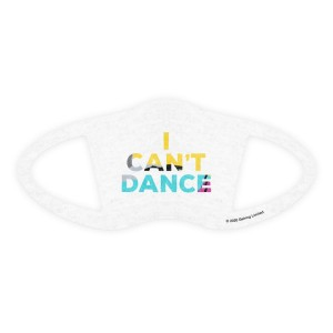 Can't Dance Face Covering White