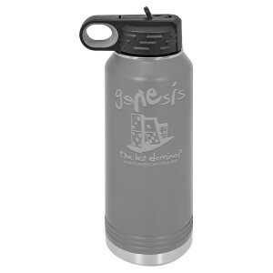 The Last Domino Polar Camel Water Bottle