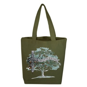 Wind & Wuthering Olive Tote Bag