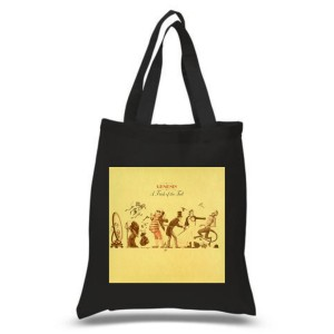 A Trick OF The Tail Black Tote Bag