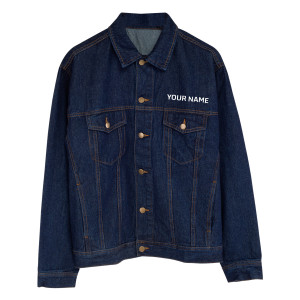 Mad Hatter Personalized Jean Jacket