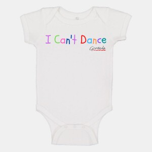 I Can't Dance Onesie