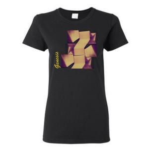 Women's Abstract Stars T-Shirt