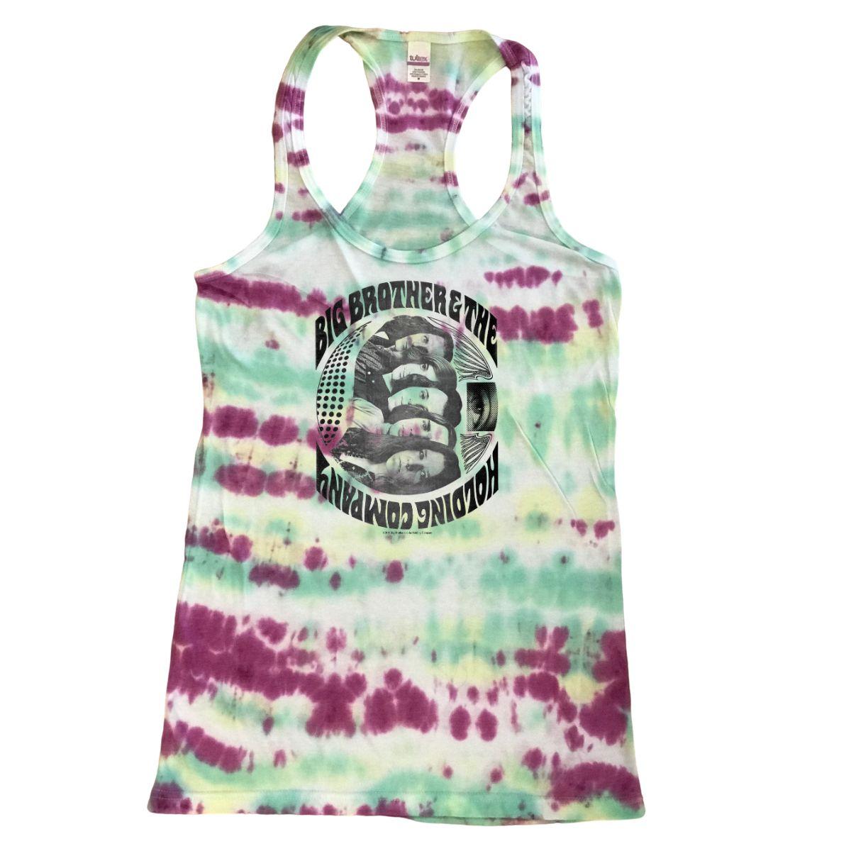 Women's Tie-Dye Band Tank Top