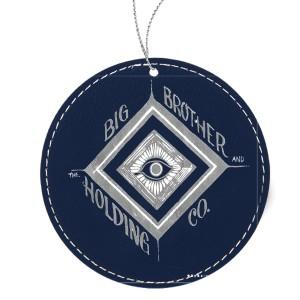 Mystic Eye Leather Ornament