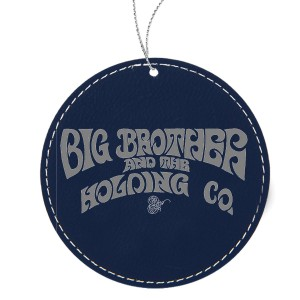 Logo Leather Ornament
