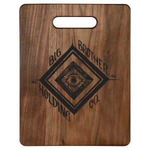 Eye Logo Walnut Cutting Board