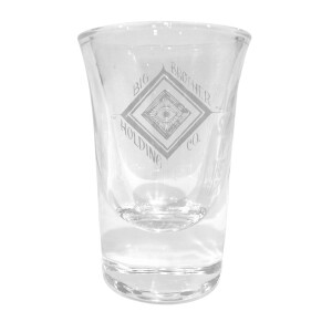 Eye Laser Engraved Shot Glass