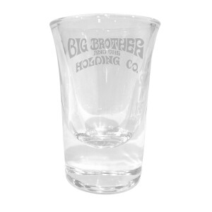 Logo Laser Engraved Shot Glass