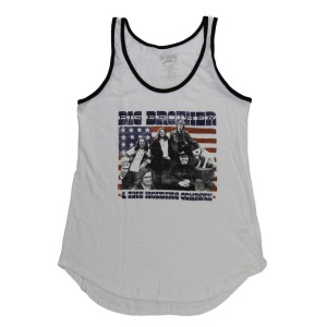 Ladies Stars & Stripes Ringer Tank