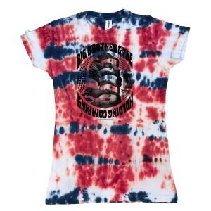 Women's Tie-Dye Band T-Shirt