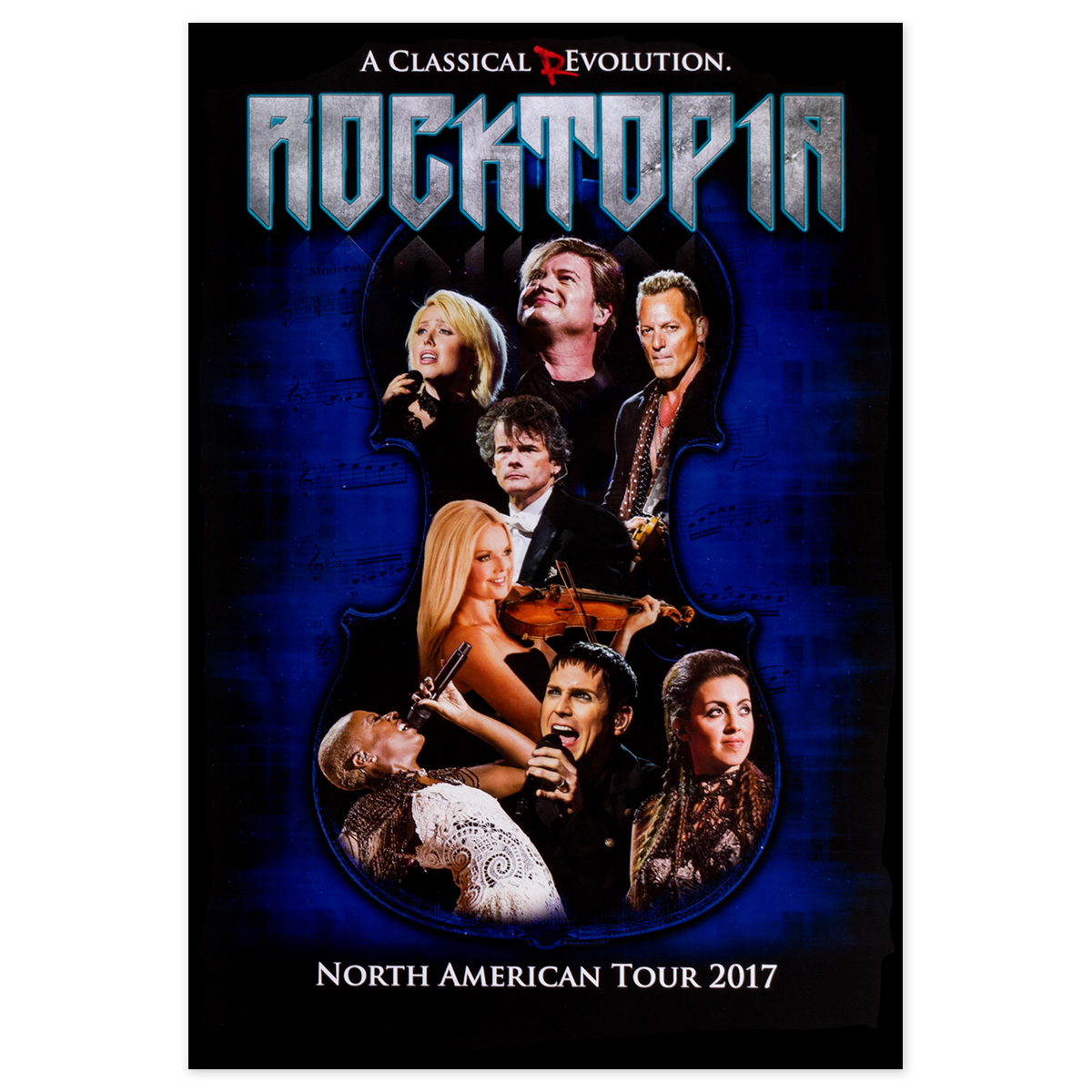 Rocktopia Official Tour Poster