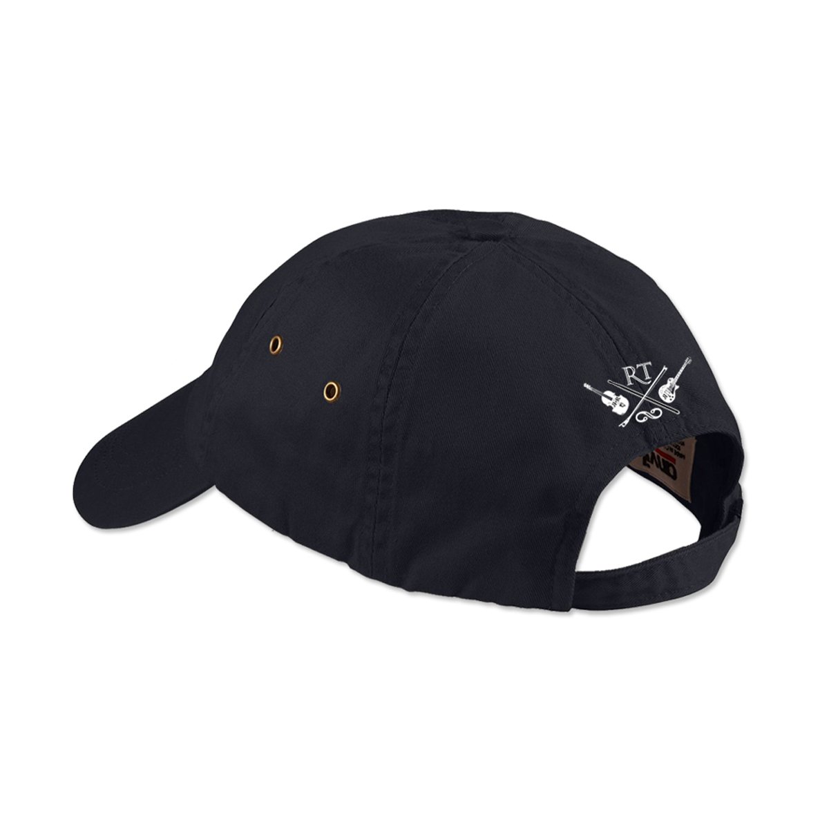 Rocktopia on Broadway Black Twill Baseball Cap