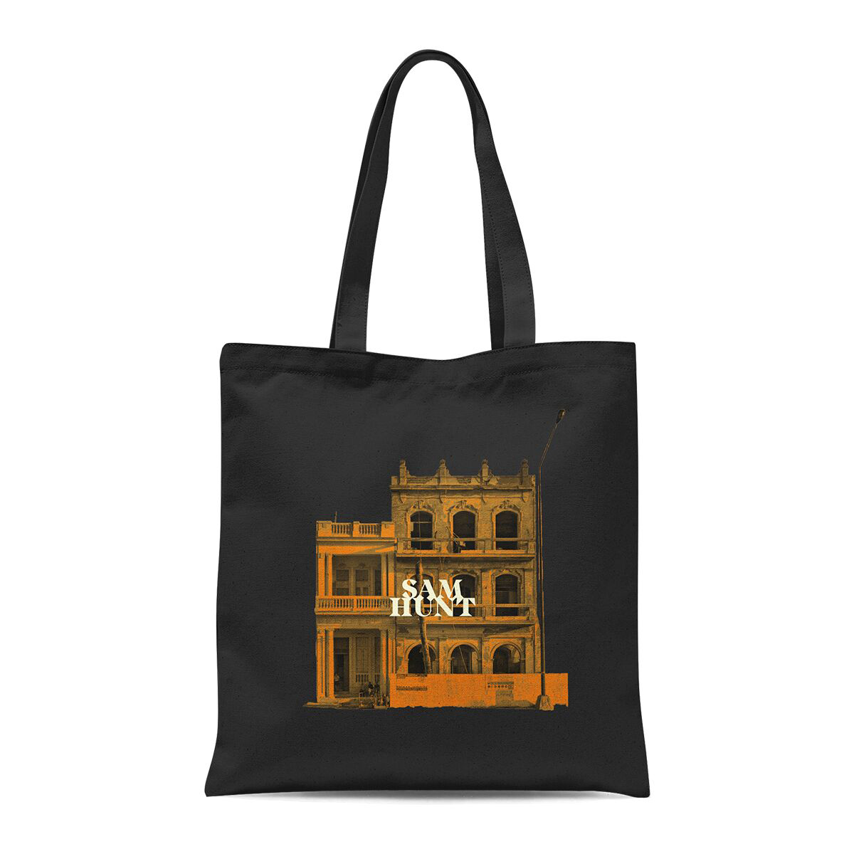Downtown's Dead Black Tote Bag