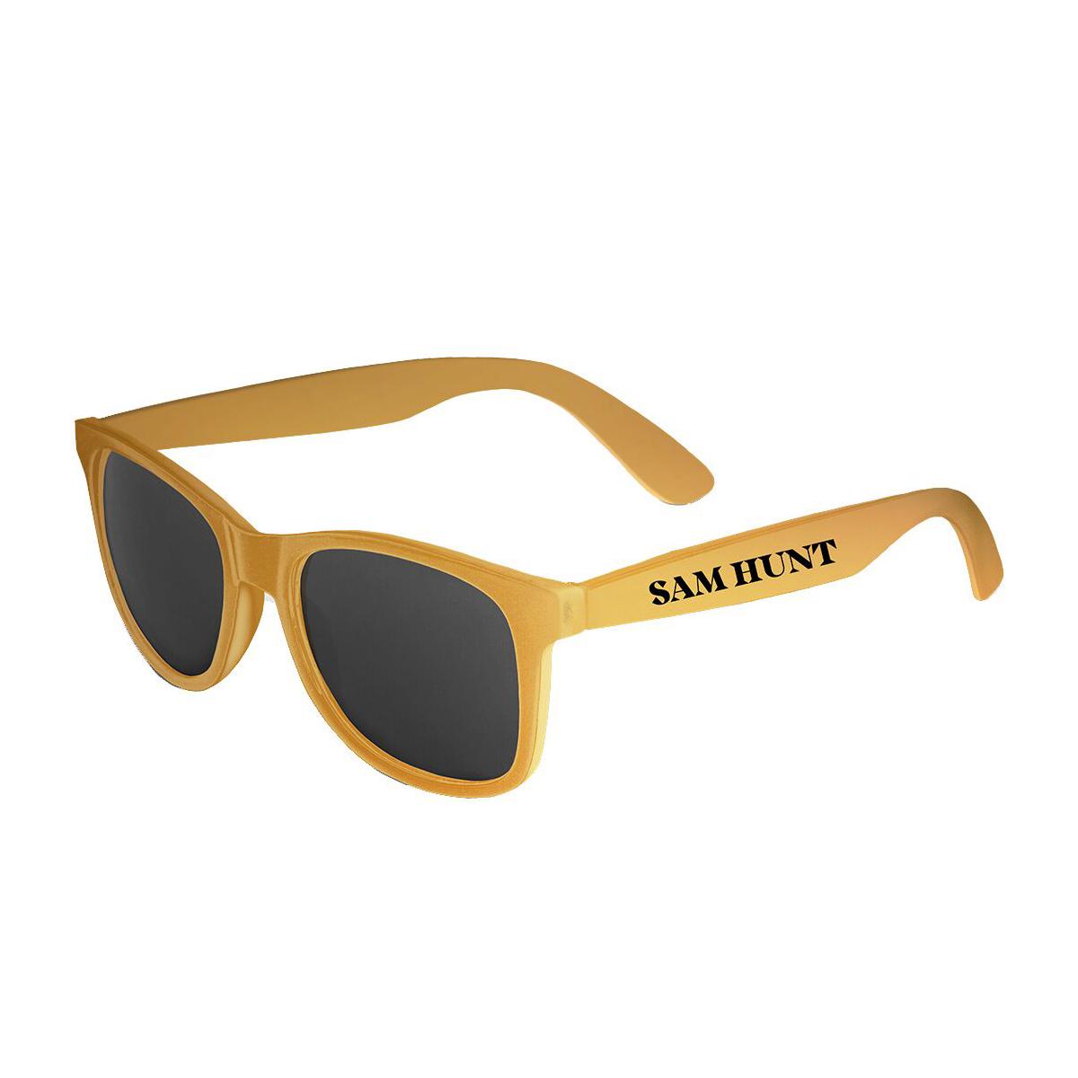 Sam Hunt Yellow Sunglasses
