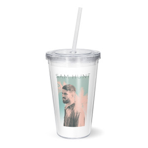 Photo Palm Tree Tumbler